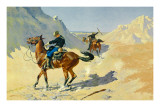 The Advance Guard Prints by Frederic Sackrider Remington