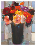 Vibrant Bouquet Posters by Hooshang Khorasani