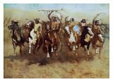 Danza de la victoria Pósters por Frederic Sackrider Remington