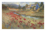 Villa d'Umbria Affiches par Ruth Baderian