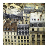 Paris Rooftops I Poster by Alicia Bock