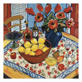 The Lemon Bowl Prints by Suzanne Etienne