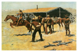 Coming and Going of the Pony Express Prints by Frederic Sackrider Remington