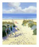 Henri Deuil - Modré kolo, červený slunečník Obrazy