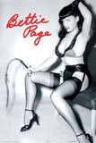Bettie Page Whip Poster