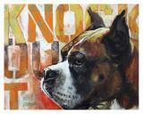 Boxer Prints by Marilyn Kelley