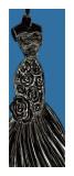 Blue Dress Prints by Mark Gleberzon