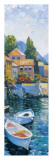 Lake Como Crossing Panel II Prints by Howard Behrens
