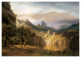 In the Valley Prints by Albert Bierstadt