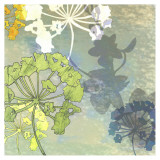 Wildflower Textures Posters van Jan Weiss