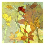 Autumn Textures Poster by Jan Weiss