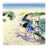 La Parasol Jaune Prints by Henri Deuil