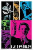 Elvis Colors Posters
