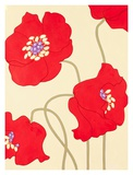 Poppy Party I Posters by Monica Kuchta