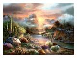 Sunset Splendor Póster por Alma Lee
