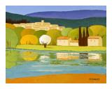 Le Lac Posters by Elisabeth Estivalet