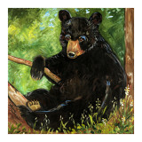 Baby Bear Prints by Suzanne Etienne