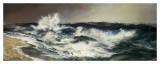 The Much Resounding Sea Art by Thomas Moran