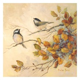 Birds of Autumn I Prints by Barbara Mock