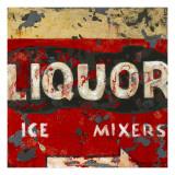 Liquor and Mixer Prints by Aaron Christensen
