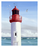 Le Phare Posters by Henri Deuil