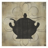 Kitchen Silhouettes III Print by Marissa Decinque