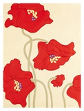 Poppy Party II Prints by Monica Kuchta