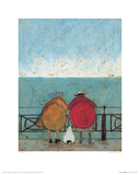 Doris Earwigging Giclee Print by Sam Toft