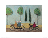 A Nice Day For It Giclee Print by Sam Toft