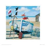 Windy Day Giclee Print by Jane Hewlett