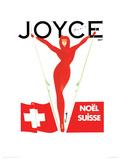 Joyce, Noël, Paris Giclee Print by Michel Canetti