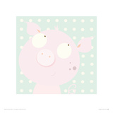 Pinky Piggy Giclee Print by Nicola Evans