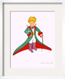 Petit Prince et la Cape Rouge Limited Edition Framed Print by Antoine de Saint-Exupéry