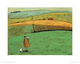 Doris Wants To Take The Bus Giclee Print by Sam Toft
