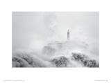 Cantabria Lighthouse II Giclee Print by Marina Cano