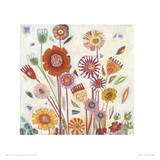 Summer Blooms Giclee Print by Shyama Ruffell