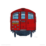 Mind the Gap Giclee Print by Barry Goodman