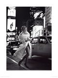 Times Square, New York, 1995 Lmina gicle por Rico Puhlmann