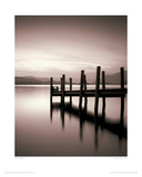 Landing Stage, Derwent Water, Cumbria Giclee Print by Mike Shepherd