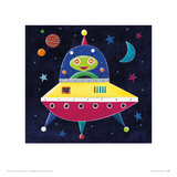 Spaceship Giclee Print by Simon Hart