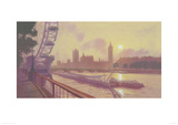 South Bank Gicl&#233;e-Druck von Mark Harrison