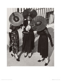 Wedding Outfits, 1938 Giclee Print by Norman Parkinson