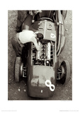 Ferrari Mechanic, French GP, 1954 Giclee Print by Jesse Alexander