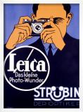 Leica Range Finder Camera Framed Giclee Print by Hubert Saget