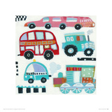 Traffic Jam Giclee Print by Anne Davies