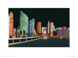 Chicago River View Giclee Print by Andy Burgess