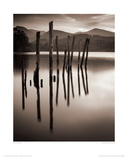 Forgotten Jetty, Derwent Water, Cumbria Giclee Print by Mike Shepherd