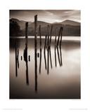 Forgotten Jetty, Derwent Water, Cumbria Giclee Print by Mike Shepherd