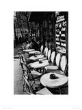 Parisian Café Giclee Print by Joseph Squillante