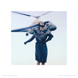 Nena, Take off for Paris, 'Queen', 1960 Impressão giclée por Norman Parkinson